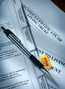 wills and living trusts